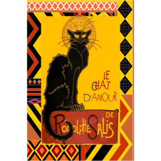 Le Chat D'Amour With Ethnic Border