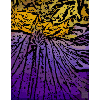 Flower Power in Purple and Yellow