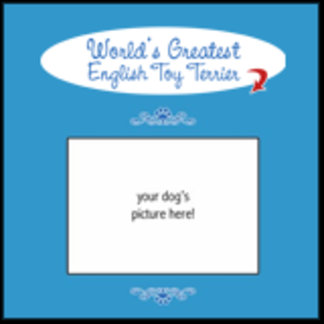 Personalized World's Greatest English Toy Terrier