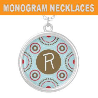 Monogram Necklaces and Jewelry