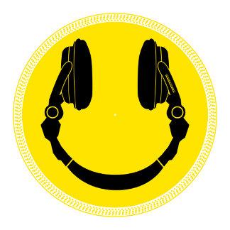 DJ Smiley Headphone Platter