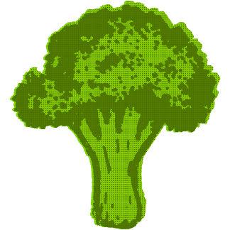 ➢ Broccoli Graphic