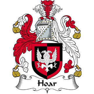 Hoar Family Crest