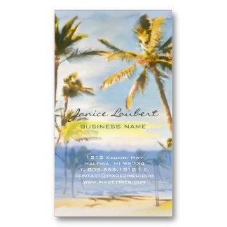 2 | Vintage Hawaiian Beach Scene