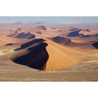 Namibia, Namib-Naukluft Park. Aerial view of