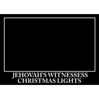 Anti Jehovah's Christmas card