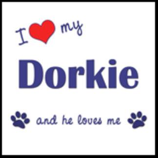 I Love My Dorkie (Male Dog)
