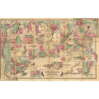 Colton's Plans of US Harbors