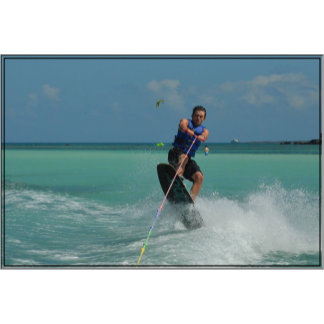 Tropical Wakeboarding