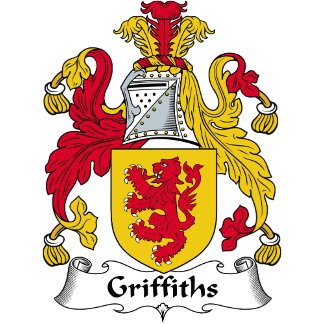 Griffiths Family Crest / Coat of Arms
