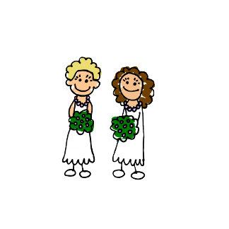 Cute Little Bride Lesbians