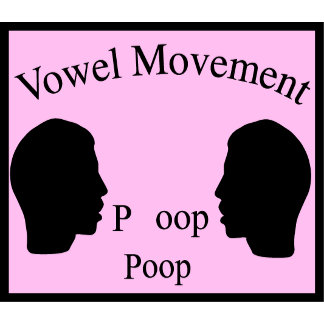 Vowel Movement - Pink