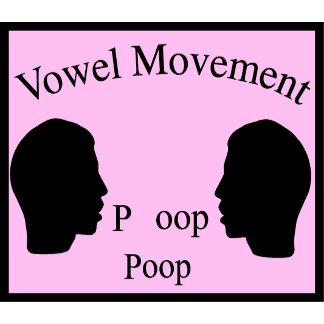 Vowel Movement - Pink