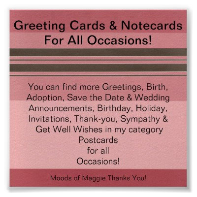 Cards, Notecards