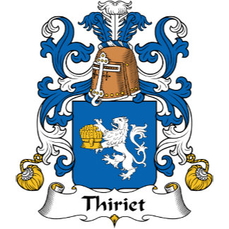 Thiriet Family Crest