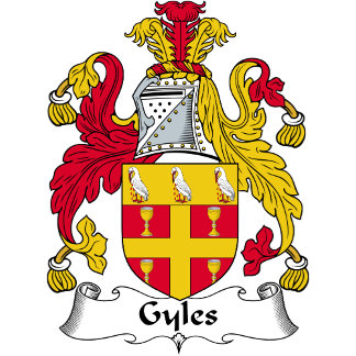Gyles Family Crest / Coat of Arms