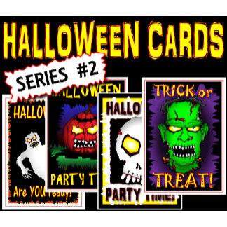 HALLOWEEN Cards-series 2