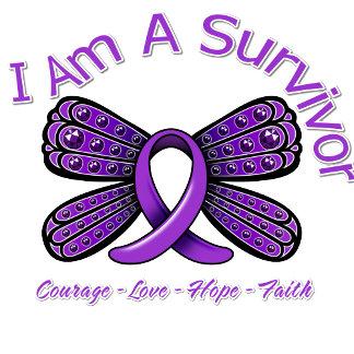 Epilepsy Butterfly I Am A Survivor