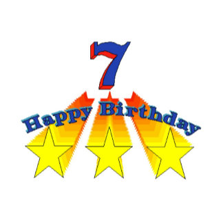 Happy Birthday 7-year-old