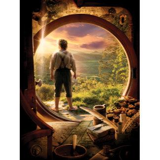 Bilbo Back in Shire Collage