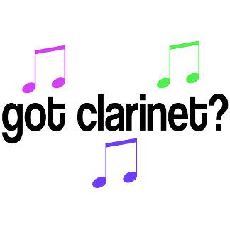 Got Clarinet Tshirts and Mugs
