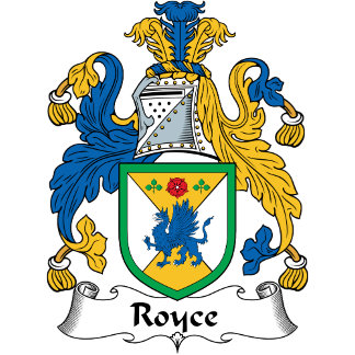 Royce Coat of Arms