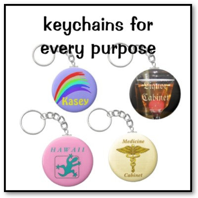 Keychains for every purpose