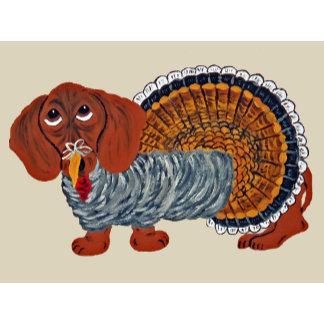 Dachshund Thanksgiving Turkey