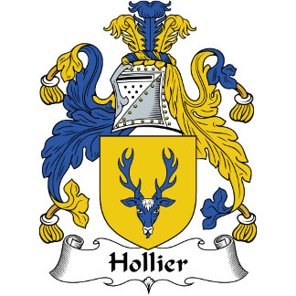 Hollier Family Crest