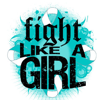 Cervical Cancer Fight Like A Girl Rock Ed.