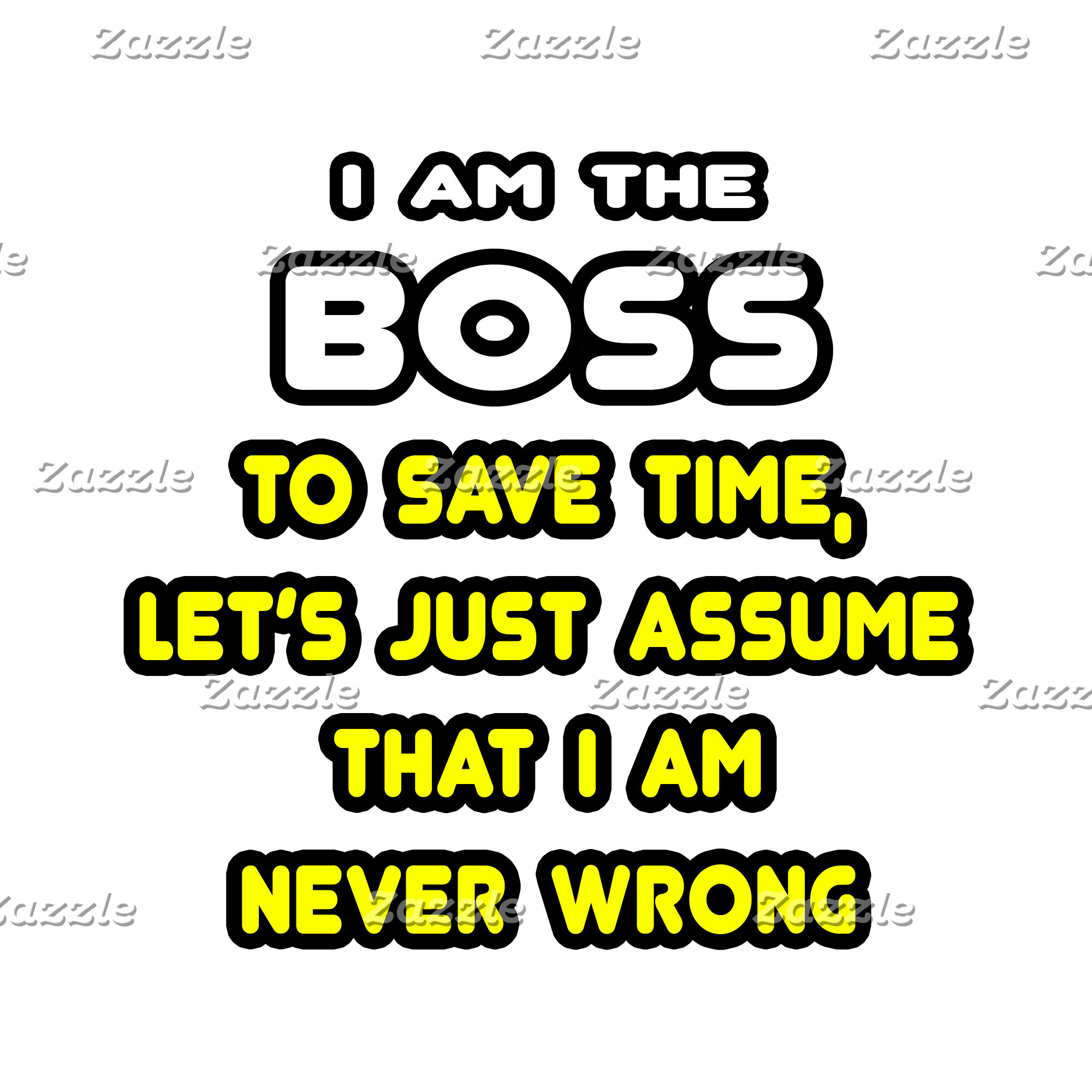 Funny Boss T-Shirts and Gifts