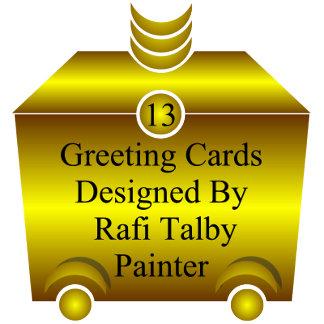 13 greeting cards rafi talby