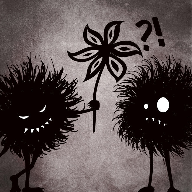Kind Evil Bugs