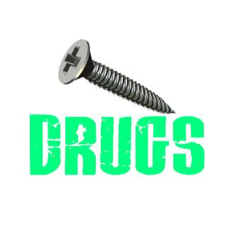 Screw Drugs Light Green