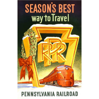 Pennsylvania Railroad Christmas Trains
