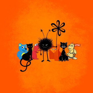 Gang Of Cartoon Characters