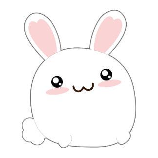 Cute Fat Bunny