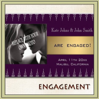 ENGAGEMENT INVITATIONS and ANNOUCEMENTS