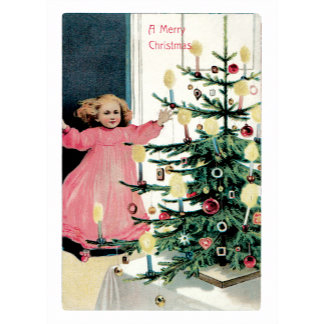 A Merry Christmas ~ Delighted Little Girl