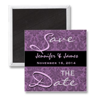 Purple Damask Wedding Collections
