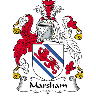 Marsham Family Crest