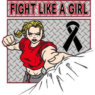 Melanoma Fight Like A Girl Punch