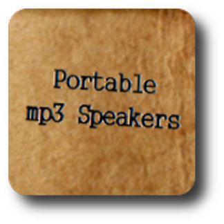 Portable MP3 Speakers