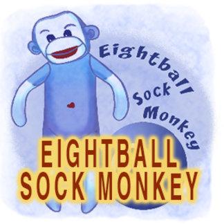 Eightball Sock Monkey