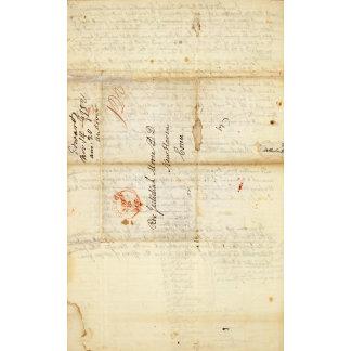 Letter from Sidney E Morse