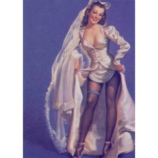 Pin up Bride