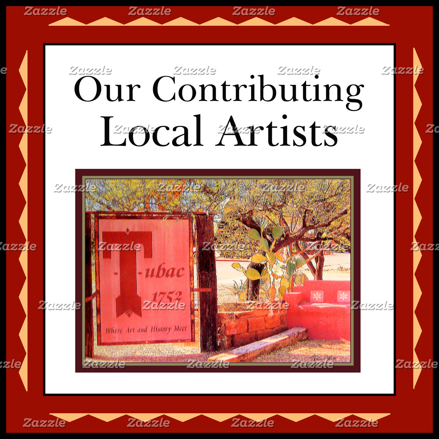Artists, Contributed local artwork