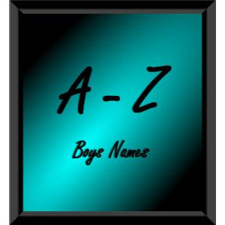 Names / Boys