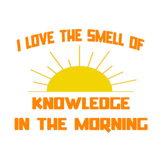 Smell of Knowledge in the Morning