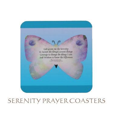 Serenity Prayer Coasters